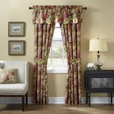 Discount Waverly Curtains Waverly Floral Flourish Cordial Drapery Pair Walmart Com