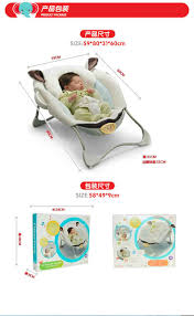 Electric Rocking Chair Luxury Baby Cradle Swing Electric Baby Rocking Chair Chaise Lounge