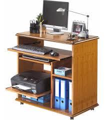 bureau informatique en bois bureau informatique complet en bois merisier lyon