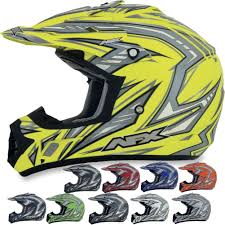 motocross protection gear afx fx 17 factor motocross helmets
