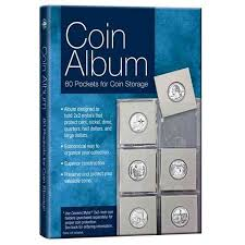 photo albums with pockets coin album 60 pockets for coin storage walmart