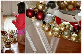 easy frugal ornament garland