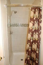 Small Shower Curtain Rod Curved Shower Curtain Rod Small Bathroom Curtain Rods