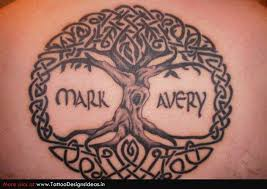 celtic tree of life circle tattoo tattoos book 65 000 tattoos