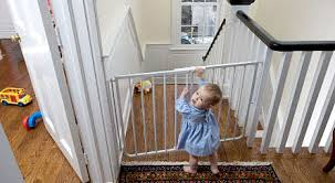 Baby Proofing Banisters Childproofing Stairs How To Childproof Your Log Home Without
