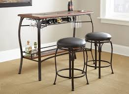 Pub Table Set Steve Silver Furniture Dakota 3 Piece Pub Table Set U0026 Reviews