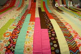 jelly roll race quilt make a quilt in an hour wee folk