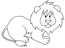 lion coloring funycoloring
