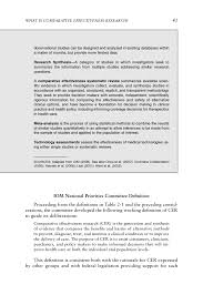 2 what is comparative effectiveness research initial national