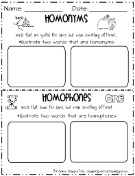 synonyms antonyms and homonyms worksheets worksheets
