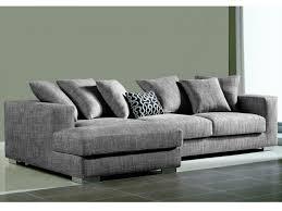 canape haut de gamme canapé d angle déhoussable tissu haut de gamme spencer gris gris