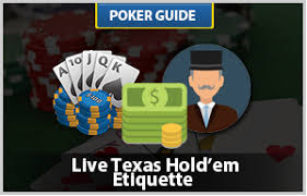 what is the proper etiquette when you run into one clown giving proper etiquette in live hold em everything you need to