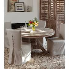 Reclaimed Wood Dining Room Furniture La Phillippe Reclaimed Wood Round Dining Table Free Shipping