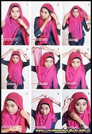 tutorial memakai jilbab paris yang simple 60 hijab fashion tutorial untuk menyambut ramadhan 48 cara memakai