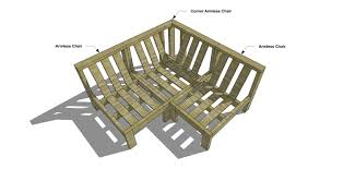 Diy Outdoor Sectional Sofa Plans The Design Confidential Free Diy Furniture Plans And How To Build