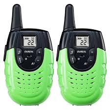amazon com oureal walkie talkies for kids long distance two way