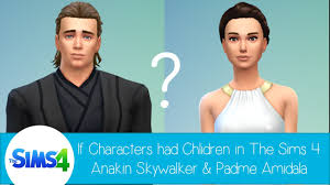 If Characters Had Children In The Sims 4 Anakin Skywalker
