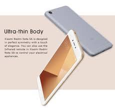 Xiaomi Note 5a Xiaomi Redmi Note 5a 5 5 Inch 2gb 16gb Smartphone Gray