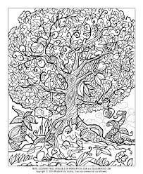 coloring pages for adults tree spring coloring pages adult books pinterest and tree of life auto