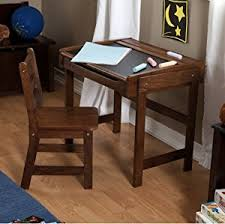 Antique Writing Desk For Sale Amazon Com Desk And Chair Set Combo Child Study Student