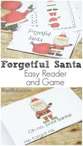 free printable christmas writing paper 590 best christmas theme images on pinterest christmas santa is forgetful except for names of course and needs help ensuring that he doesn t leave the house without his hat easy reader and game