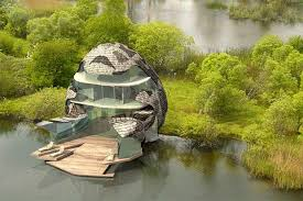 eco home designs fair architecture futuristic egg pattern eco