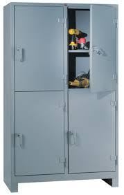 Heavy Duty Steel Shelving by 1120 4d Heavy Duty Storage Cabinet 4 Door