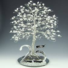 25th anniversary tree cake topper or centerpiece 165 00 via