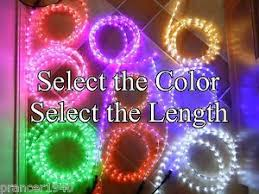 cool white or choose color led rope lights up to 150
