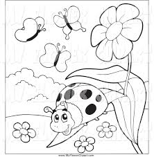 royalty free coloring pages to print stock flower designs