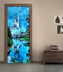 disney castle door wrap decal wall sticker mural home decor disney castle door wrap decal wall sticker mural home decor cinderella d195