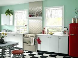 painting metal kitchen cabinets do yourself retro kitchen colors