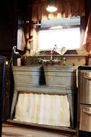 Rustic Kitchen Sink Cool Projects Tubs Sinks And Cabin