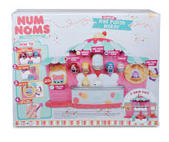 amazon com num noms nail polish maker toys u0026 games