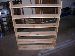 Wood Storage Rack Plans by Dvd Shelving For 20 Ish 6 Steps