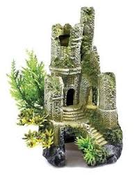 classic 0930 castle ruin ornament fish tank aquarium 30l biorb