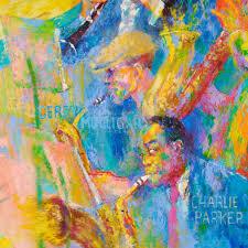 Popular Artwork Meet The Titans Of Jazz A Guide To Leroy Neiman U0027s Fantasy Jam