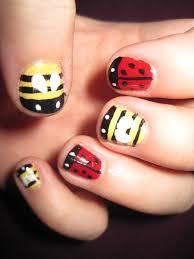 ladybug nail art design bug nail art design at home