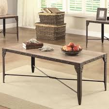 Refurbished End Tables furniture rustic coffee table on wheels weathered end table