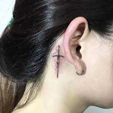 tattoo neck behind ear ear tattoos ideas behind the ear tattoos for guys and girls