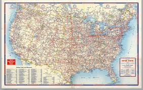 Map Of Te United States by Road Map Of United States David Rumsey Historical Map Collection