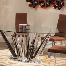 Triangle Dining Room Table Elegant Acrylic Tables Designer Acrylic Table For Home Shahrooz Art
