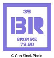 Bromine On The Periodic Table Vectors Of Periodic Table Element Bromine Icon Periodic Table