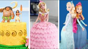 amazing princess cakes compilation moana tinkerbell aurora