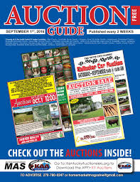 auction guide september 1st 2016 by home market magazine issuu