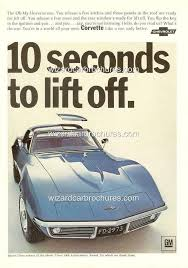 1968 chevrolet corvette for sale 1968 chevrolet corvette a3 poster ad sales brochure mint 1953 to