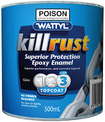 killrust epoxy enamel sungold 500ml