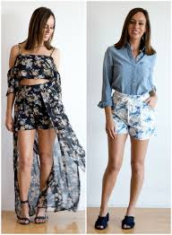 six shorts trends for summer 2017 fashion trends