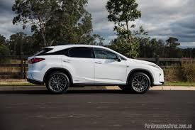 lexus rx white 2016 lexus rx 450h f sport review video performancedrive