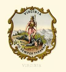 State Flag Of Virginia File Virginia State Coat Of Arms Illustrated 1876 Jpg Wikipedia